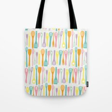 Candy Utensils Tote Bag