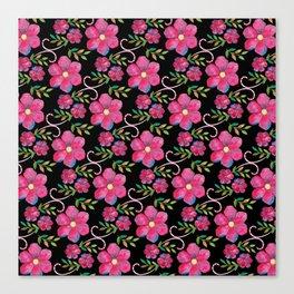 Flowers (pattern) Canvas Print