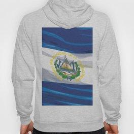 El Salvador Fancy Flag Hoody