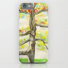 Lady Larch iPhone Case