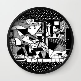 Guernica. Picasso. 1937 Wall Clock