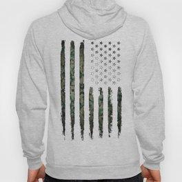 Khaki american flag Hoody