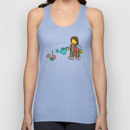 Flower Power Unisex Tank Top