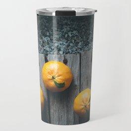 Tangerines Travel Mug