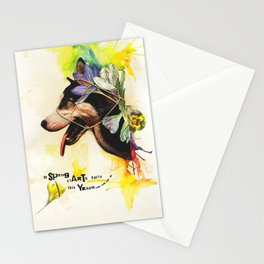 SPRiNG STARTS EARLY THIS YEAR Stationery Cards