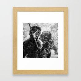 Shall we dance? Framed Art Print