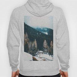 Fir Forest Winter Hoody