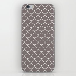 Warm Gray Scales iPhone Skin