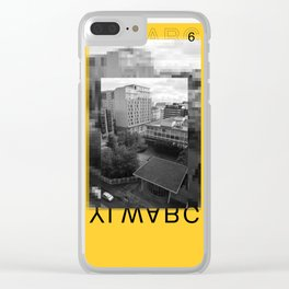 Yellow City 06 Clear iPhone Case