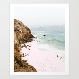 Pink Trails #society6 #decor #buyart Art Print