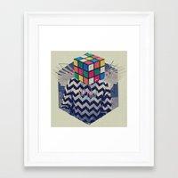 the xx Framed Art Prints featuring XX by Steven Kline
