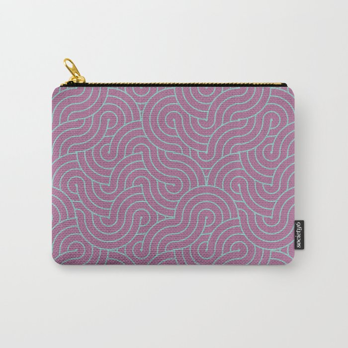 SWIRL / candy Carry-All Pouch