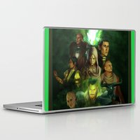 dragon age inquisition Laptop & iPad Skins featuring The Inquisition by Nero749