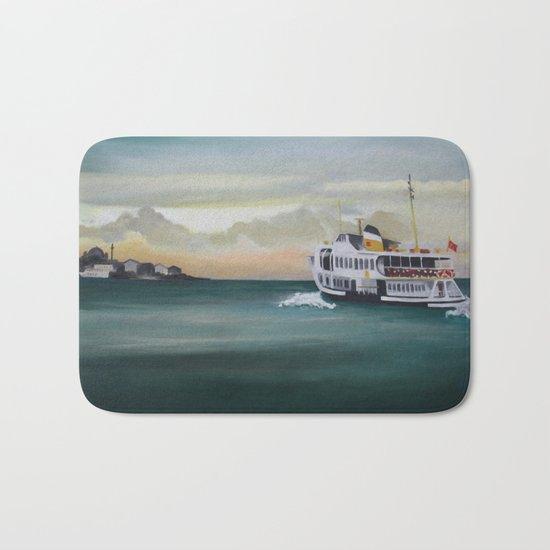 Ferry İstanbul Bath Mat