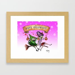 Decay & Dementia Having a Good Time! Framed Art Print