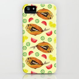 Milkfish Pattern iPhone Case