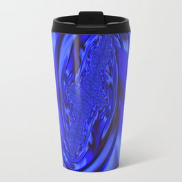 Inspirational Blue Travel Mug