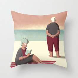Day Trippers #10 - Sunset Throw Pillow