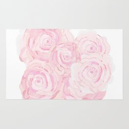 Shabby Chic Roes Rug