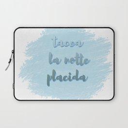 Tacea La Notte Placida   Il Trovatore   Verdi Laptop Sleeve