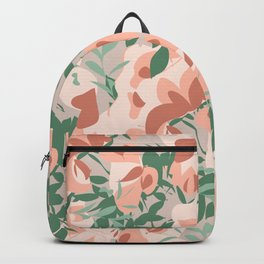 All flowers in time_Allover Backpack