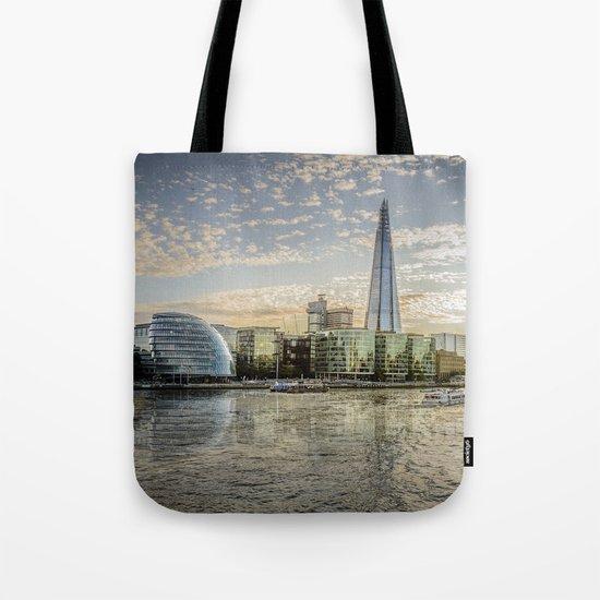 London waterfront Tote Bag
