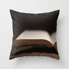Books #3 Throw Pillow