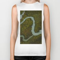 looking for alaska Biker Tanks featuring Alaska Streams by Andy Barron