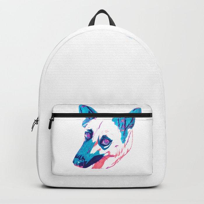 German Shepherd Husky Mix Backpack by raliz