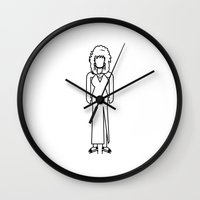 dolly parton Wall Clocks featuring Dolly Parton by Band Land