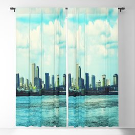 New Orleans Skyline Blackout Curtain
