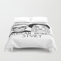 cactei Duvet Covers featuring AHS by ☿ cactei ☿