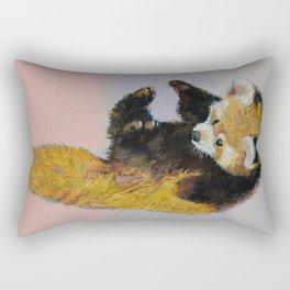 Red Panda Cub Rectangular Pillow