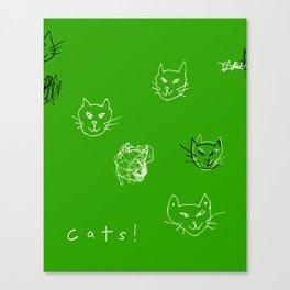 Cats! Canvas Print