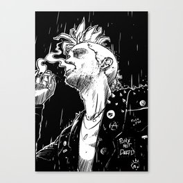 Smoke and Rain Canvas Print