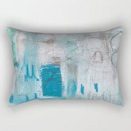 Come Swimming Rectangular Pillow