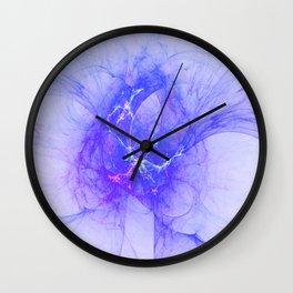 Back into Blue Wall Clock