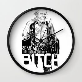 Remember Hershel Greene Wall Clock