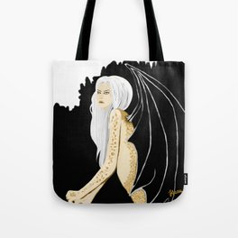 dragons in the midst Tote Bag
