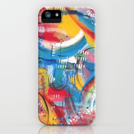 Random Thoughts iPhone Case
