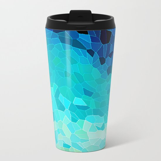 INVITE TO BLUE Metal Travel Mug