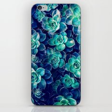Plants of Blue And Green iPhone & iPod Skin