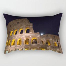 Colosseum by night Rectangular Pillow