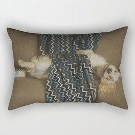 On a rainy day Rectangular Pillow