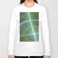 compass Long Sleeve T-shirts featuring Compass by C Juarez