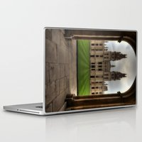 college Laptop & iPad Skins featuring Christ Church College, Oxford by Best Light Images
