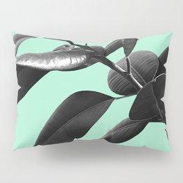 Ficus Elastica Beach Vibes #2 #foliage #decor #art #society6 Pillow Sham