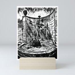 'Spirit Of Life' Saratoga Springs NY - Original Art - Statue Artwork Mini Art Print