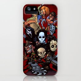 Horror Guice iPhone Case