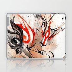 Okami Amaterasu Ink Laptop & iPad Skin